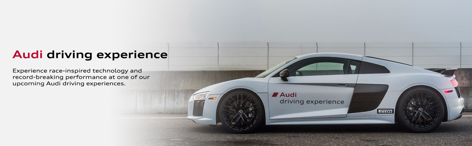 The Audi driving experience